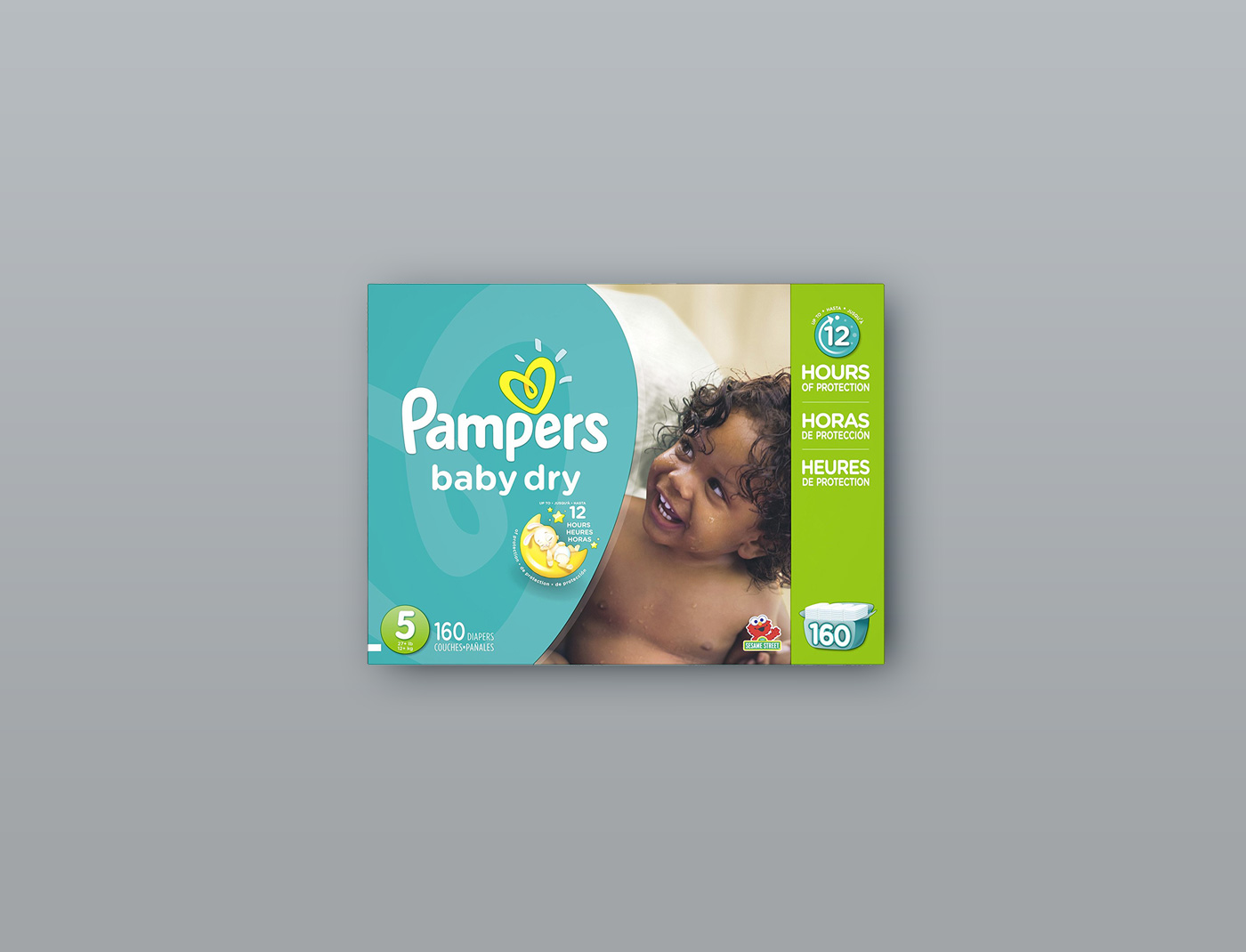 Pampers Baby Dry Size: 5, Count: 160