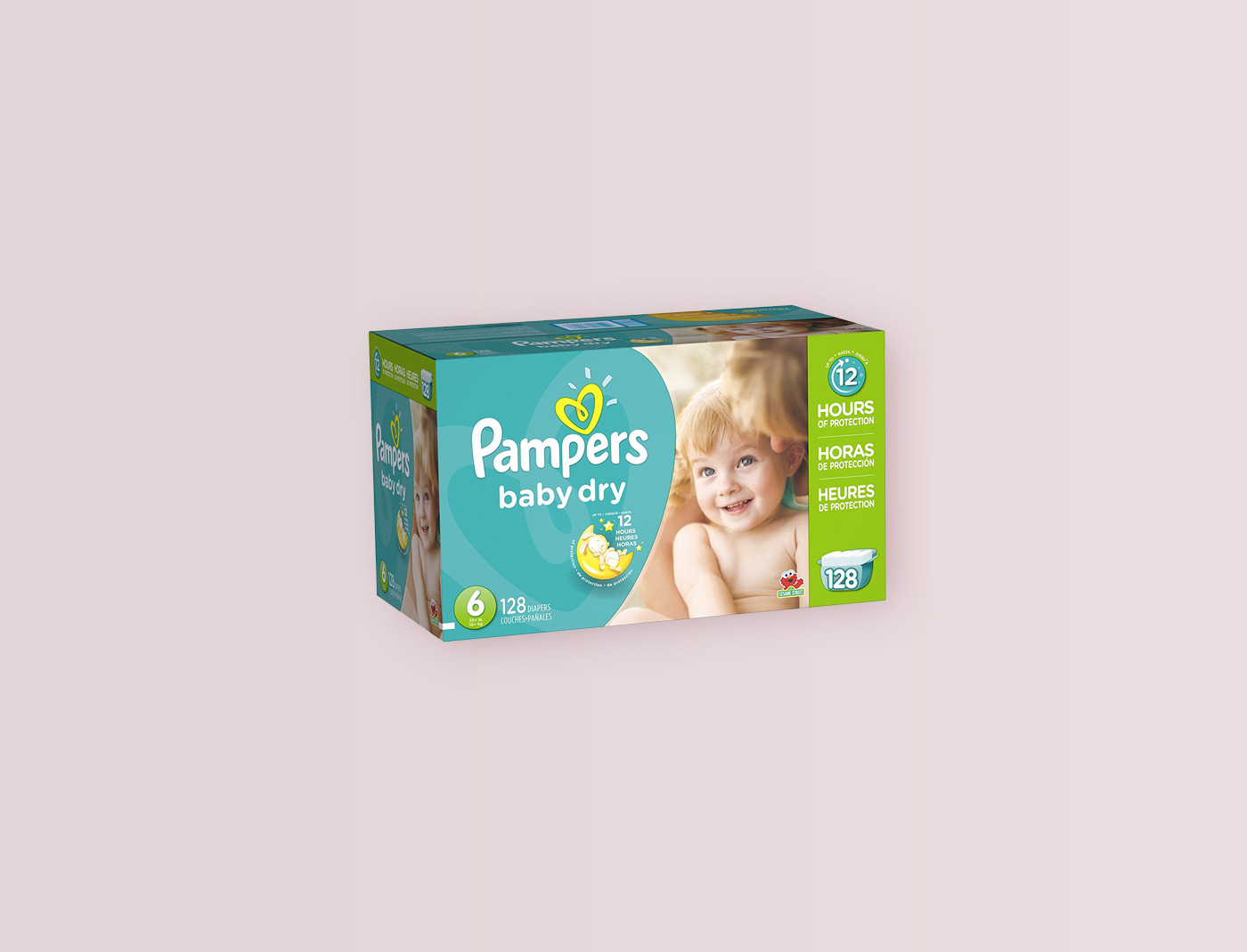 Pampers Baby Dry Size: 6, Count: 100